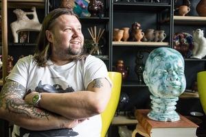 Мідний мітинг-рум і «жива стіна» в офісі Sergey Makhno Architects