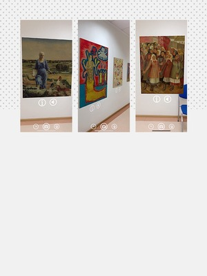 Це виставка українських художниць від HeForShe. Її можна відвідати з дому