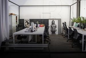 Офіс у «контейнері» Слави Балбека і Олі Богданової