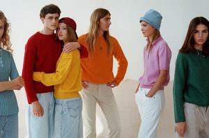 Яскравий светр від українського бренда Feb