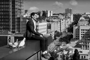 Реклама AirPods у Києві: як зняти Нью-Йорк на Бульварно-Кудрявській