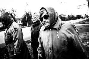 Камера спостереження. Чорно-білий Кривий Ріг на фото Євгена Бондаренка