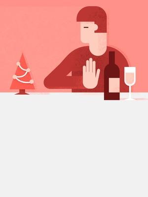 Як відмовитися від алкоголю за різдвяним столом?
