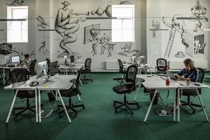 Мурали в офісі: сучасні українські художники в робочому просторі Support Your App