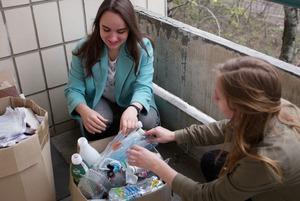 Як у гуртожитку студенти відкрили сортувальню сміття. І закрили
