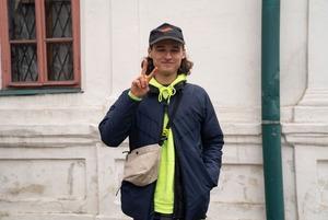 Міша Бірченко, 25 років, барабанщик, фронтмен гурту Hyphen Dash