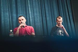 «День звільнення – один із тих, заради яких варто жити»: Сенцов та Кольченко в Українському домі