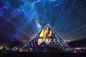 Digital Culture: навіщо на Burning Man 30-метрова піраміда з українським медіаартом