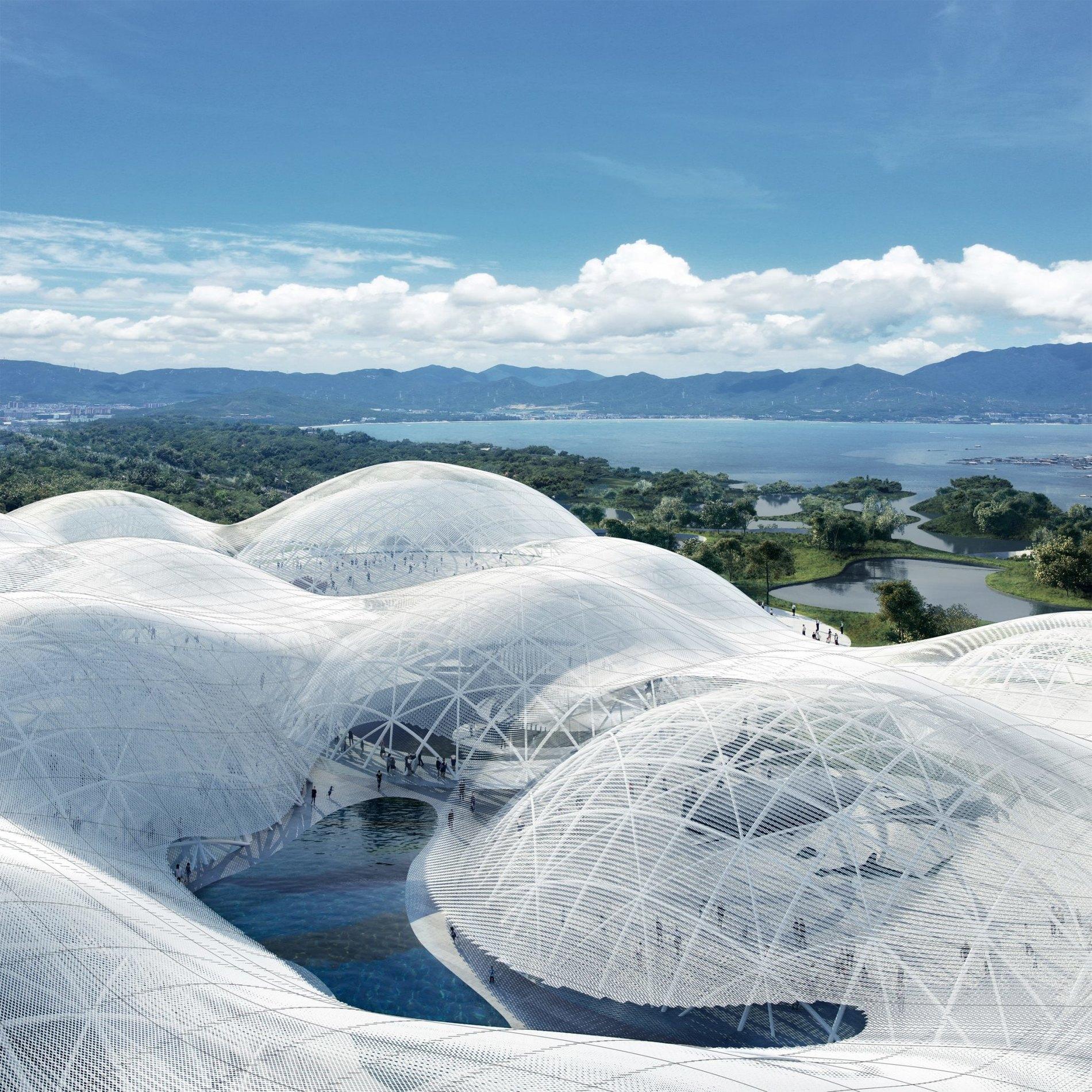 Музей у вигляді хмари