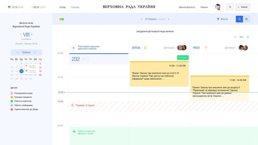 Разработчики предложили новый дизайн сайта Верховной Рады 03