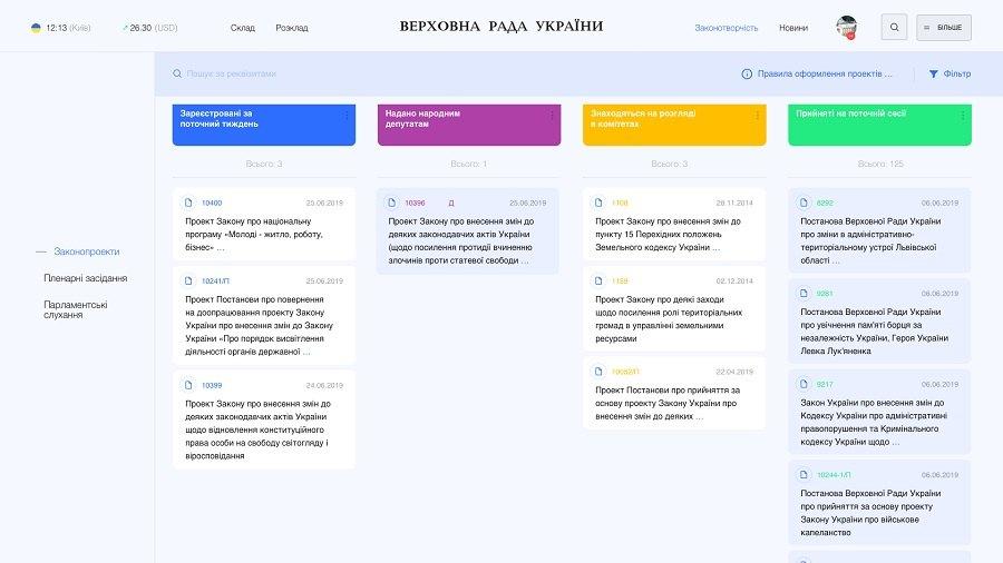 Разработчики предложили новый дизайн сайта Верховной Рады 04